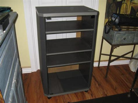 awesome deal stereo cabinet with glass door gloucester