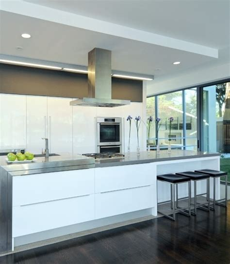 kitchen island vent hoods 48 quot plane island designer stainless steel rangehood modern range hoods and vents new york