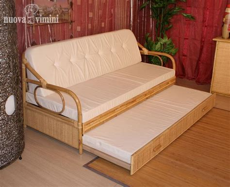 divani letto etnici divano letto giunco naturale nuova vimini