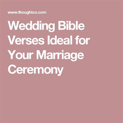 Wedding Bible Verses For Ceremony by 25 Best Ideas About Wedding Bible Verses On