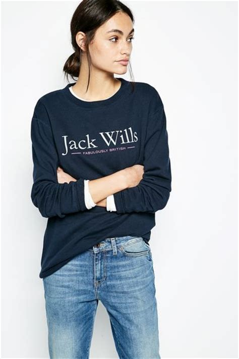 Wills Oversized Navy Hoodie hoodies sweatshirts wills