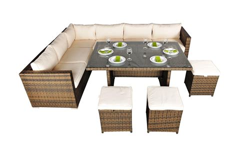 garden furniture corner sofa savannah corner sofa rattan garden furniture set