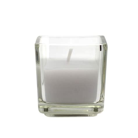 Square Candles Zest Candle 2 In Lavender Square Glass Votive Candles 12