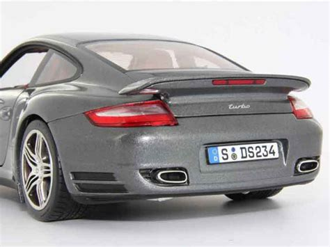 porsche  turbo gray norev diecast model car  buy