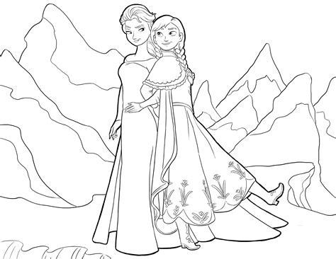 frozen coloring page pdf disegni da colorare di frozen giochi di frozen