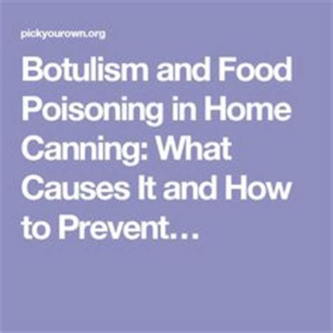 7 Ways To Prevent Food Poisoning by 1000 Images About 4 H Food Preservation On