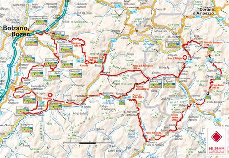 Motorrad Online Karte by Dolomiten Gardasee Venetien Motorradkarte Mit