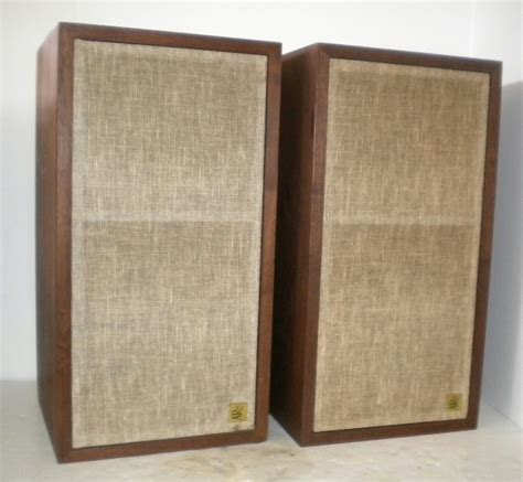 classic ar 4x acoustic research bookshelf stereo speakers