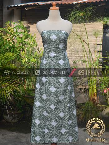 Blouse Batik Bolero Seling Cap jual kain batik bahan baju motif kawung besar hijau