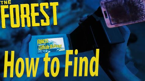 yacht keycard how to find the camcorder keycard the forest youtube