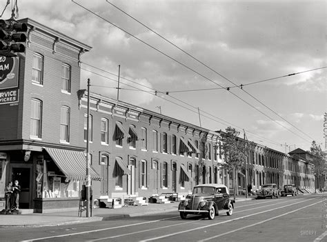 boat transport baltimore md great 1940s photo of row houses ghosts of baltimore