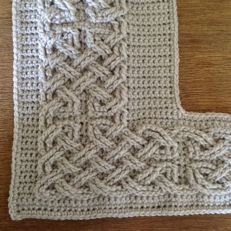 Knots Knitting On The Square - suvi s crochet book of kells large celtic cables