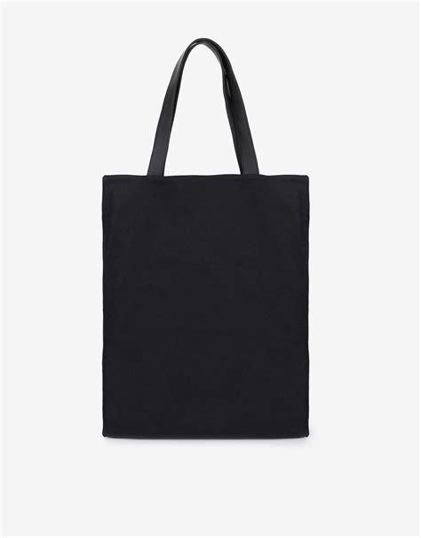 fabhic classic simple tote bag hitam mataharimall