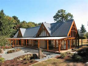Mountainside Home Plans Cabin Chic Mountain Home Of Glass And Wood