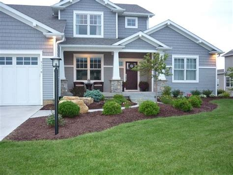 Landscape Ideas Gray House Grey Houses With White Trim The Grey Exterior And White