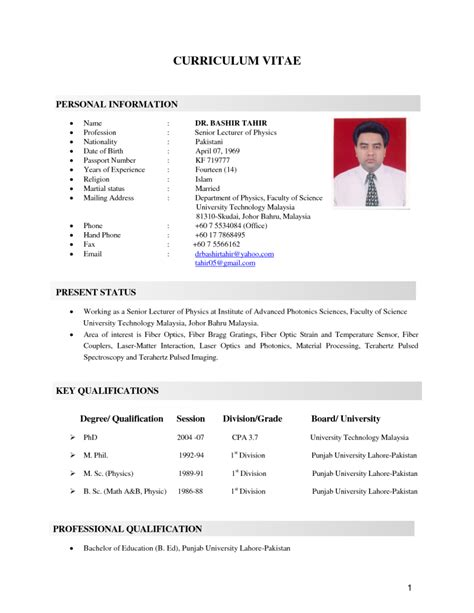 Job Resume Malaysia by Simple Sample Resume In Malaysia Resume Ixiplay Free Resume Samples