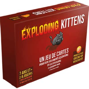 Asmodee Exploding Kittens by Exploding Kittens Un Jeu De Cartes Asmodee