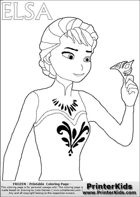 Disney Frozen Elsa Throwing Crown Coloring Page Disney Frozen Coloring Pages For Elsa Free