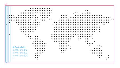 dot pattern css3 css3 dotted world map jayhan loves design japan