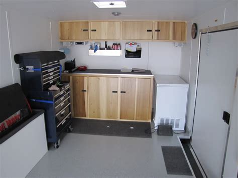 Enclosed Trailer Cabinets by Cool Enclosed Race Trailer Cabinets 89 Race Car Trailer