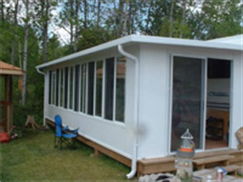Trailer Sunrooms sunrooms and decks ontario canada cground