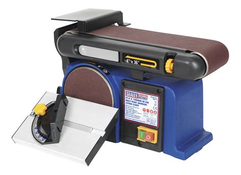 bench mounting disc belt sander 150mm disc 100mm x 915mm