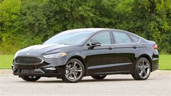 Ford Fusion Reviews Drive 2017 Ford Fusion V6 Sport
