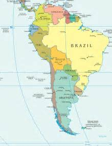 south america countries and capitals map south america other maps