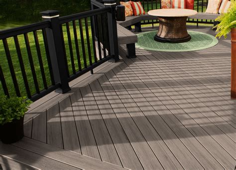 gray deck composites add great options to your columbus deck color
