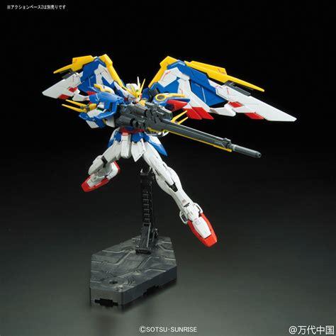 Rg Wing Zero Ew Complete Set rg 20 1 144 wing gundam ew release info box and