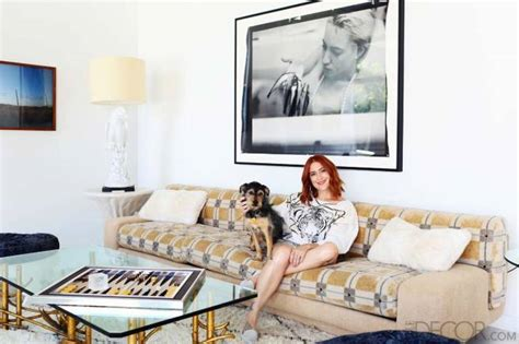 elle decor celebrity homes corey lynn calter house tour
