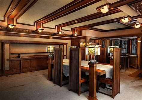frank lloyd wright home interiors frank lloyd wright robie house interiors and designs
