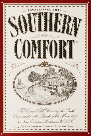 southern comfort label southern comfort or jim beam label modify to be an