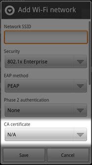 android certificate installer android certificate installer realmb
