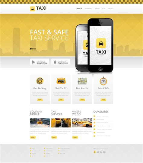 taxi drupal template 48614