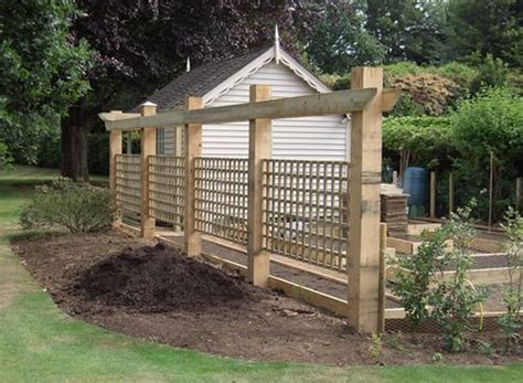 Free Standing Trellis Screen Wood Work How To Build A Free Standing Lattice Screen Pdf