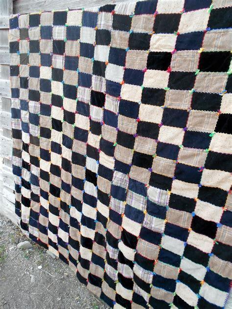 Velvet Patchwork Quilts - 17 best images about quilts antique vintage on