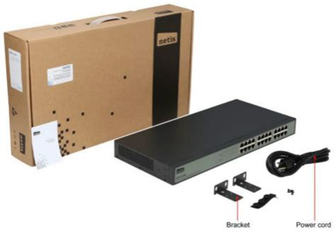 St3124g 24 Port Gigabit Ethernet Rackmount Switch netis st3124g unmanaged 24 port gigabit ethernet rackmount switch newegg ca