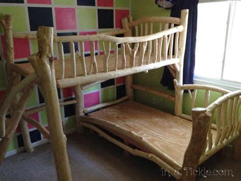 tree house bunk beds in a tickle