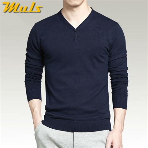 7 Chic Sweaters by 7 Colors Pullover Sweaters Best Style Cotton Knitted V
