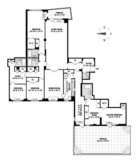 gracie mansion floor plan 180 east end avenue upper east side nyc 2 850 000