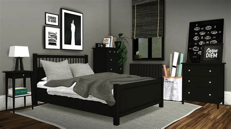 sims 3 bedroom sets ikea hemnes bed merged with mattress mesh edited