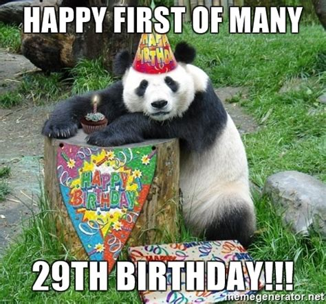 29th Birthday Meme - happy first of many 29th birthday happy birthday