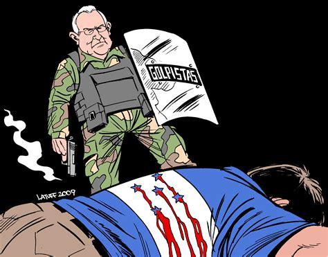 roberto michelettijpg honduran coup leader roberto micheletti by latuff indybay
