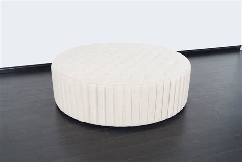 oversized tufted ottoman coffee table vintage oversized tufted ottoman coffee table for sale at