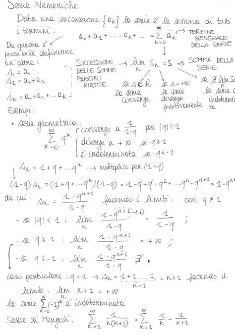 dispense di analisi matematica 1 analisi matematica i appunti