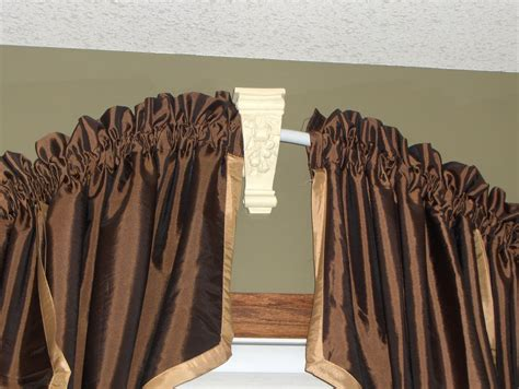 curved curtains decorative drapery hardware custom curtain rods drapery