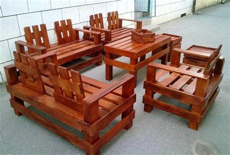 Gorgeous Pallet Outdoor Furniture Set Outdoor Furniture Using Pallets