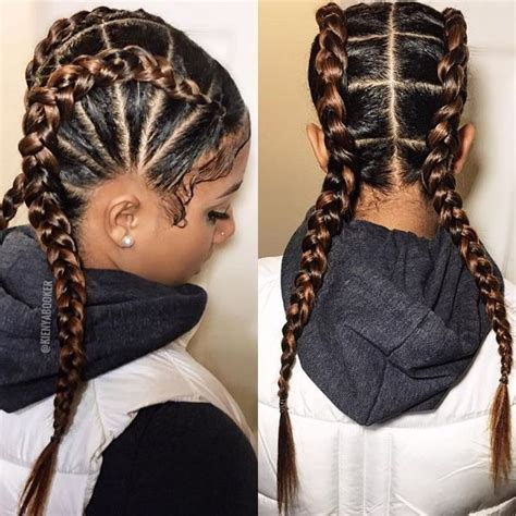 Two Braids Hairstyles Black by Two Braids Black Hairstyles Www Pixshark Images