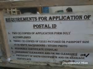 Postal Application by Southbound How To Apply For A Postal Id In Paranaque